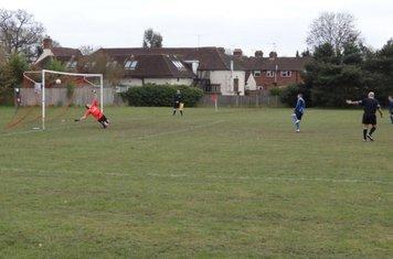 Ryan Hazell Make It 2-0 from The Penalty Spot