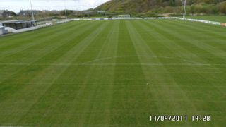 Pictures of pitch with floodlight masts - thanks Budgie