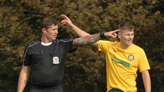 Barmouth & Dyffryn 0 - 1 Llanidloes, 28/9/19 Pics by Rod Davies Photography
