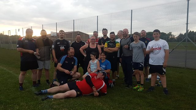 Stockton RFC Touch Rugby