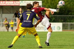 Controversial penalty sees Clarets make losing start.