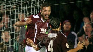 Cheek Heads Clarets to Victory