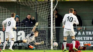 Clarets Run Ends with Defeat at Weston