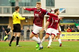 Haines Nets In Derby As Clarets End Winless Run
