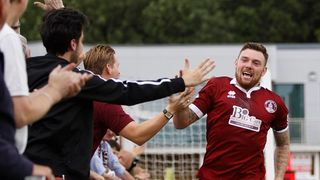 Bricknell's Brace Gives Clarets Victory