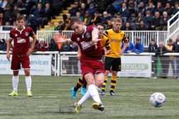 Sawyer Wins Points For Clarets