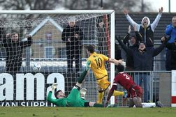 Sutton Too Powerful For Maher's Clarets