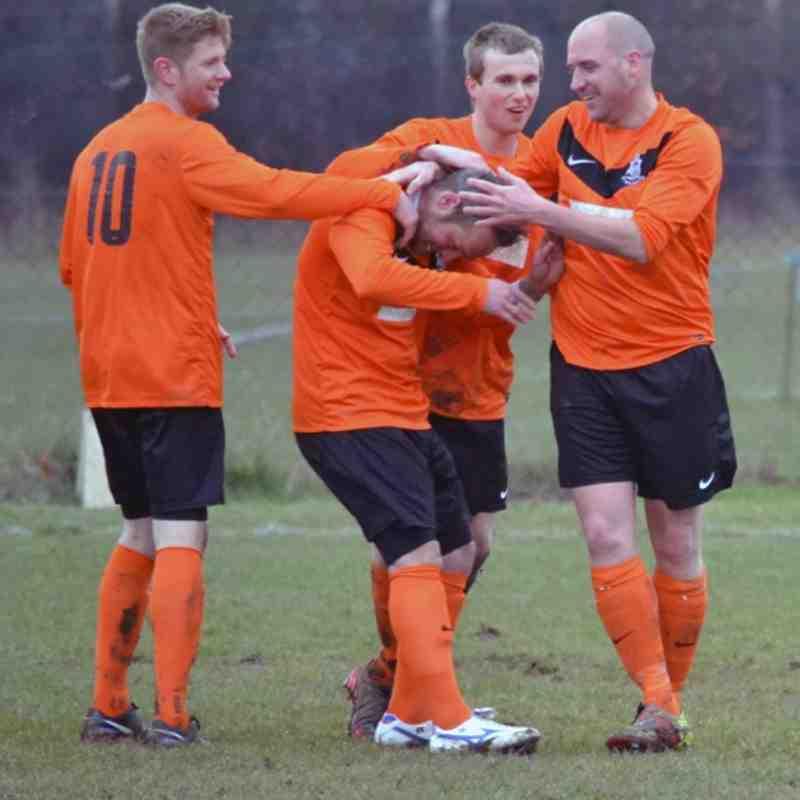 Hullbridge Sports 1  Rovers 5 - 23/2/13