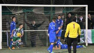 Rovers 2 - 4 Aveley