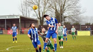 Rovers 0 Ware 5 - 7th January 2017 (For full set of match pics visit https://www.flickr.com/photos/gwroversfc/albums/72157677221875261)