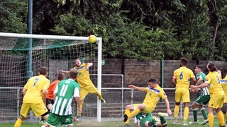 Rovers 1  Witham Town 1. Pre-Season Friendly.  18th July 2017 (For full set of match pics visit https://www.flickr.com/photos/gwroversfc/albums/72157683768015974)