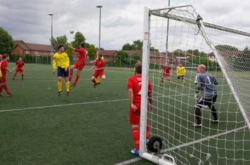 Our opening pre-season against South Park on the 3G pitch at Warwick School in Redhill