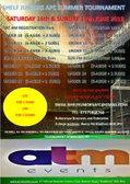 Shelf Juniors Football Club     Football Tournament Saturday 16th  & Sunday 17th