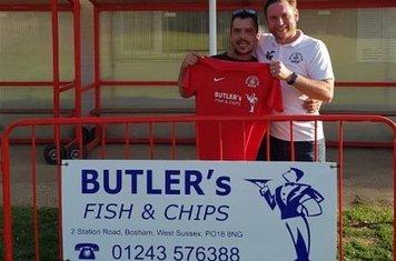 New sponsor - Butler's Fish & Chips