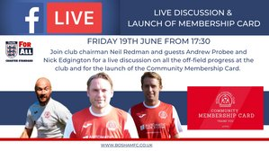 LIVE Discussion & Launch of Membership