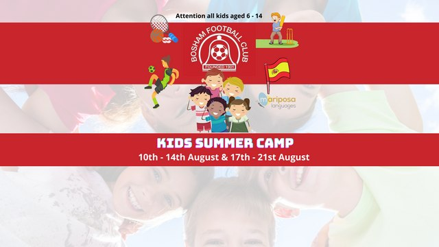 Spaces available for Summer Fun Weeks