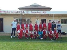 Bosham U15s Victorious at last