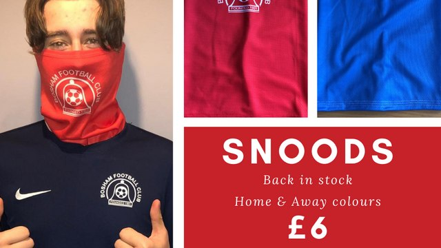 Club Snoods Back in Stock