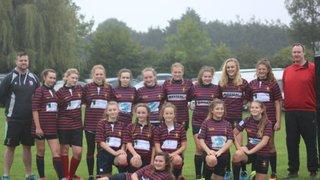 Trojans Girls U15s v E&R 10th September 2017