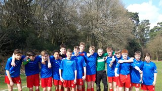 Sat 30th Mar: Holmbury & Westcott Wolves  0  Crawley Down Gatwick U15 Hammers 5