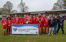 Sun 7th April: CDG U15 Anvils lift the MSL U15 Plate Trophy