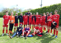 U15 Anvils Joint Runners up with 5-0 win over Male Place Rangers