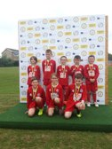 Anvils U9's at the Uckfield tournament.