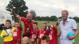 U9's great performance at the Faygate Tournament