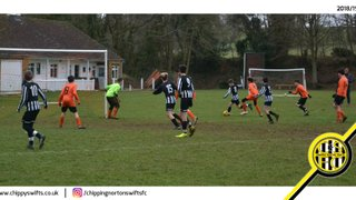 U14 Champions Cup: Byfield Tigers 3-7 Chipping Norton Swifts