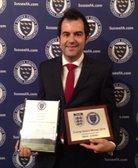 Jasinski Nets Sussex FA Workforce Volunteer Award
