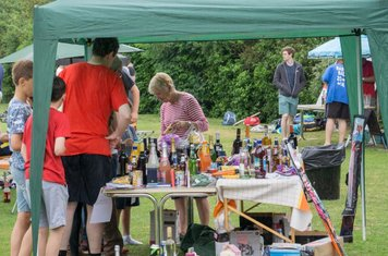 A busy tombola
