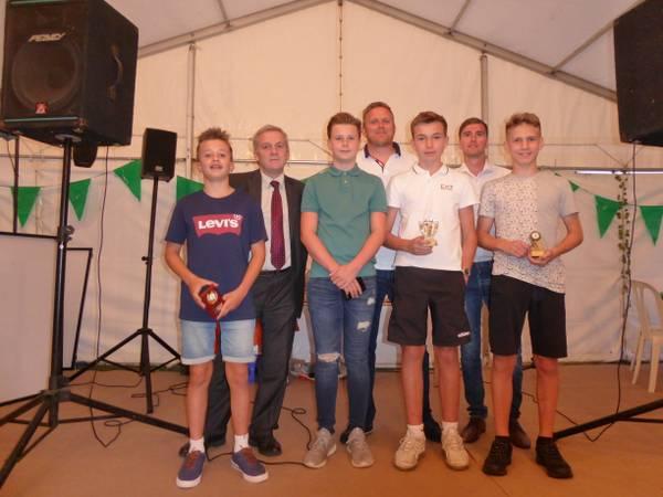 Under 13 Winners