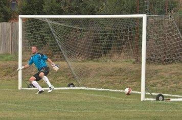 Penalty   -  No chance , wrong way  -   1-0