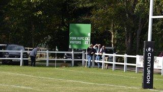 York 1st XV v Morley 14th September
