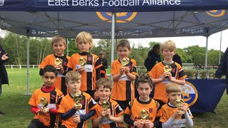 U8 Hurricanes are valiant Cup Runners Up