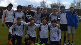 U13 Whites win the A League with a game to spare