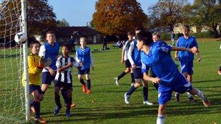 U14 Blues friendly at Over
