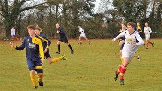 Thaxted 3 U18s 0: Unbeaten start ends