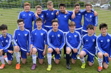 Cambs Colts U14 9v9 champs 2016-17