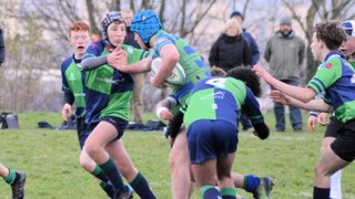 U15 dig deep in a fiercely contested game with Boroughmuir