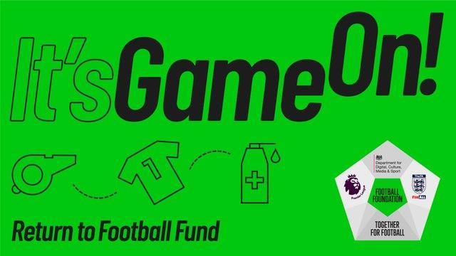 Hampton & Richmond Borough Youth celebrate funding success for football's big return
