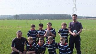 Stourbridge Under 9s v Bowden, Saturday 29 March 2014
