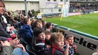 Worcester Warriors, Sixways - Stourbridge Under 9s