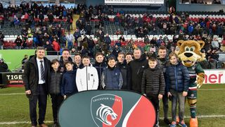 SRFC Under 13s @ Leicester Tigers Coaching Clinic