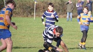 Old Leams v Stourbridge RFC Under 13s - Sunday 28 January 2018