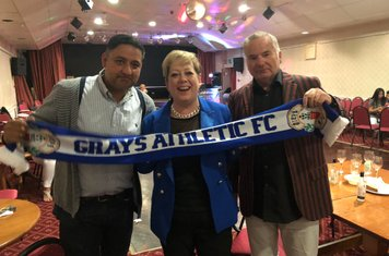 Thurrock MP Jackie Doyle-Price Supporting the Clubs return to Grays