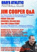 JIM COOPER - Q&A EVENT