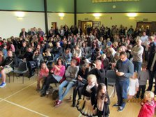 Sat 4th May Another extremely successful Junior Presentation evening