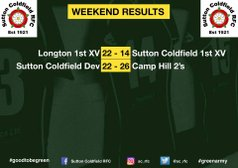 1st XV and Development Match report - 5th Jan 2018