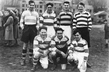 Walkerburn 7s Peebles Team 7 May 1949